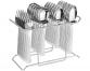 DK-215 Platinum Steel Cutlery Set